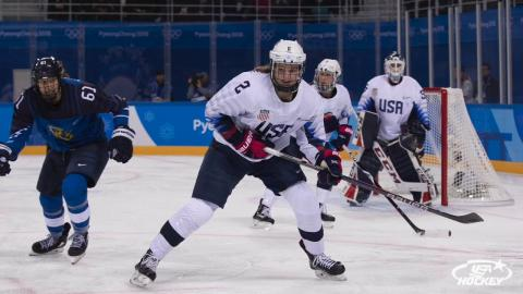 2018 Winter Olympics: U.S. Women's Team Defeats Finland, 3-1