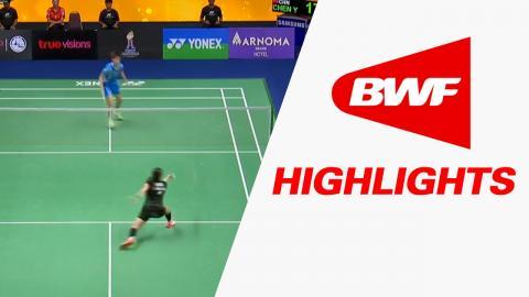 Princess Sirivannavari Thailand Masters 2017 | Badminton SF – Highlights