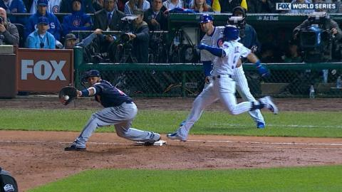 WS2016 Gm4: Indians turn inning-ending double play
