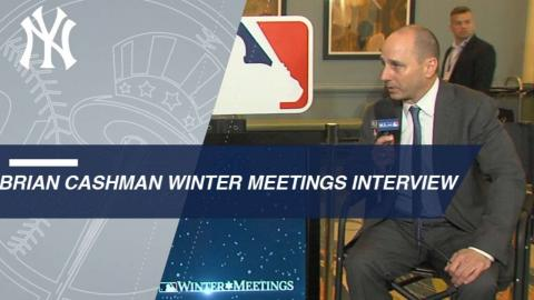 Brian Cashman discusses Yankees busy offseason