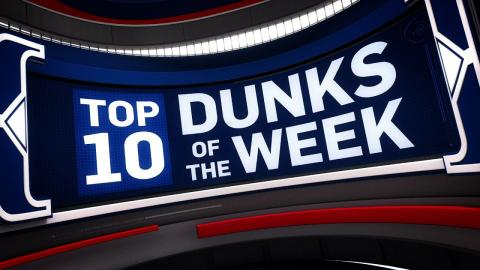 Top 10 Dunks of the Week 1.30.17 - 2.4.2017