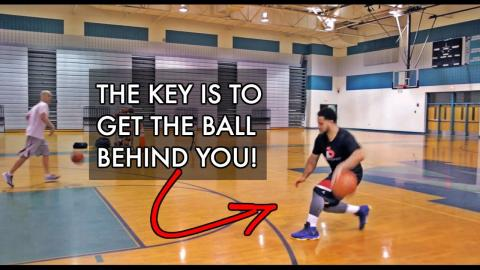 How To: Basketball Moves To Destroy Defenders | THE LUNGE DRIBBLE MOVE