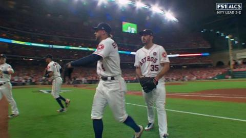 ALCS Gm6: Verlander strands a pair in the 7th inning