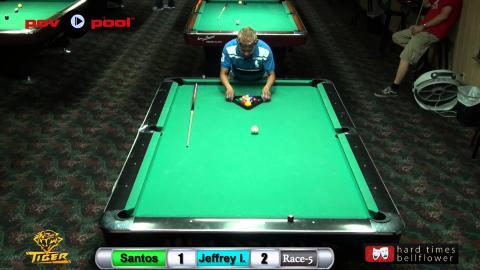 #9 - Santos Sambajon vs Jeffrey Ignacio - HTB 9 Ball / NOV 2015