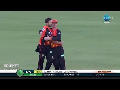 Perth Scorchers v Melbourne Stars, BBL|07