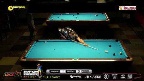 #5 Tony CHOHAN vs Gus BRISENO / 2017 Pro 10 Challenge