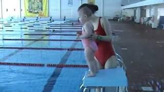 Baby Swimming  (Arabel - 1 Year And 9 Months Old Swimming In The Aura Centre).