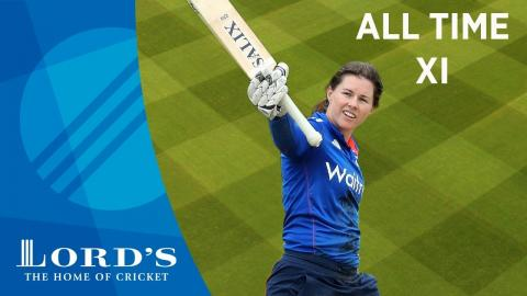 Sobers, Gilchrist & Akram - Tammy Beaumont's All Time XI