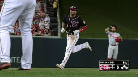 PHI@WSH: Espinosa homers to right to extend lead
