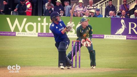 The best of Sarah Taylor 2015/16: We Are England Cricket Fan Award