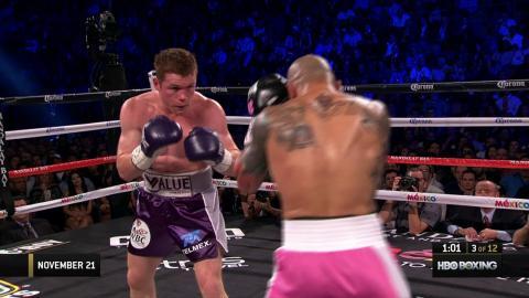 Classic Fights: Canelo Alvarez vs. Miguel Cotto (2015)