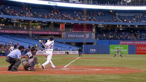 DET@TOR: Bautista belts his 100th career homer