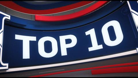 Top 10 Plays of the Night: February 22, 2018