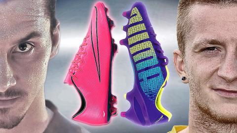 Reus VS Ibrahimovic - Boot Battle: Puma evoSPEED vs Nike Vapor X - Test & Review