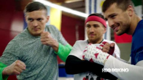 HBO Boxing News: Ukraine Trio Interview (HBO Boxing)