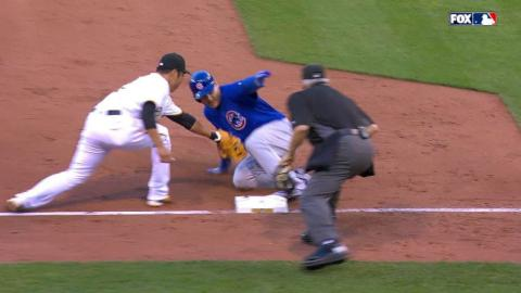 CHC@PIT: Rizzo almost gets cycle, goes 4-for-5