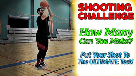 3 SHOOTING CHALLENGES To Help You Shoot A Basketball Better!!