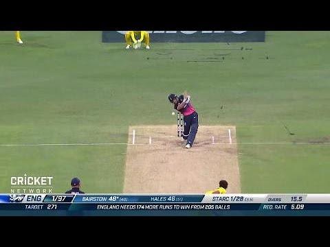 Second ODI: Australia v England