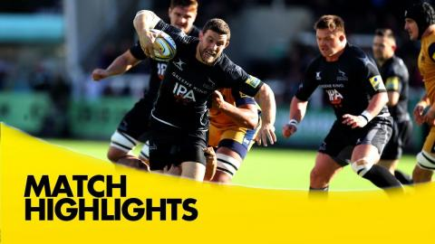 Newcastle Falcons v Bristol Rugby - Aviva Premiership Rugby 2016-17