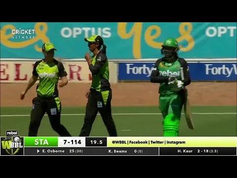 Melbourne Stars v Sydney Thunder, WBBL|03