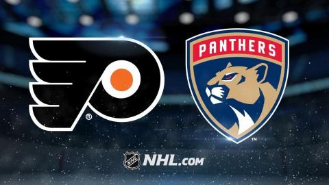 Balanced attack powers Panthers past Flyers, 3-2