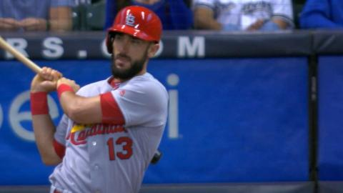 STL@MIL: Carpenter collects four hits, two triples