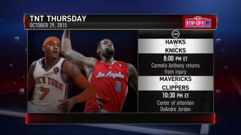 Who is playing on NBA Opening Week?