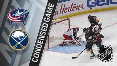 01/11/18 Condensed Game: Blue Jackets @ Sabres