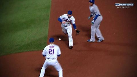 WS2015 Gm4: Murphy turns a nifty double play in 8th