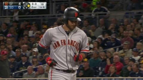 SF@SD: Crawford extends the lead with a sacrifice fly
