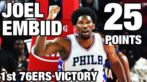 Joel Embiid Leads the Sixers to the Overtime Victory