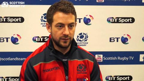 Scotland Captain Greig Laidlaw talks to Scottish Rugby TV