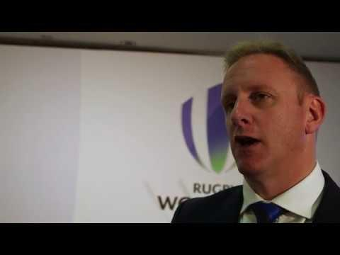 Head of Rugby World Cup Alan Gilpin speaks about 2023 process