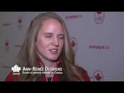 Dévoilement de la formation de l'équipe féminine pour PyeongChang