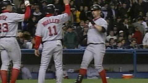 2003 ALCS Gm6: Nixon's two-run homer finds upper deck