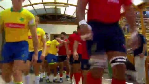 2018 Americas Rugby Championship - Chile v Brazil - Sportsmanship at #ARC2018