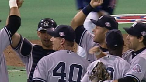 2003 ALDS Gm4: Yankees advance to the 2003 ALCS
