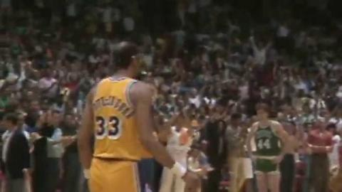 Kareem Passes West as All-Time Playoff Scoring Leader - 30th Anniversary