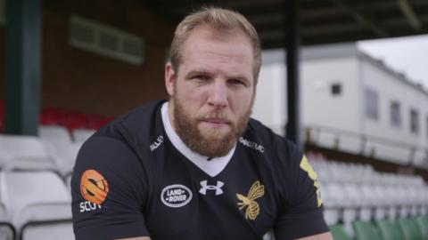 Wasps star James Haskell supports Aviva Premiership Rugby's Rainbow Laces weekend