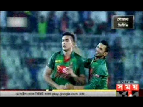 Taskin did best Bowling vs Afghan after getting legality & Walsh is Happy,Bangla Cricket News