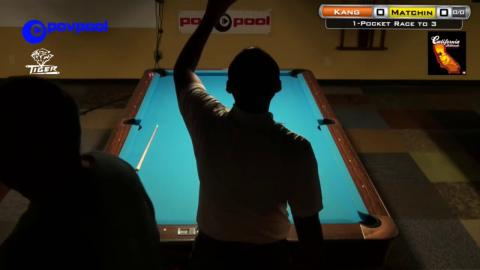 HOT SEAT - Amar KANG vs Jerry MATCHIN - POV 5, One Pocket Tournament