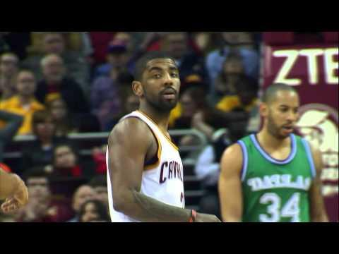 Kyrie Irving Drops 33 on the Mavericks