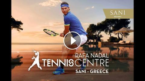 Nadal's New Greek Tennis Center