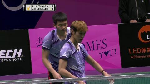 Macau Open 2016   Badminton F M5-MD   Lu/Zhang vs Lee/Lee