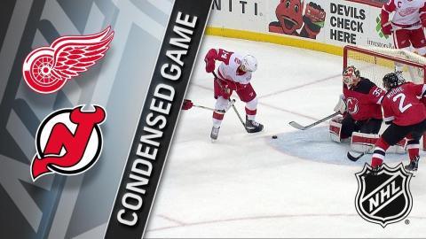 01/22/18 Condensed Game: Red Wings @ Devils