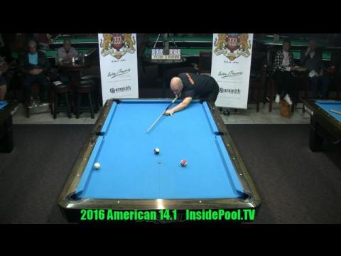 2016 American 14 1 Tournament Niels Feijen vs Nick Van Den Berg