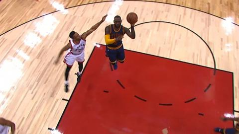 LeBron Utilizes His Left Hand on a Couple of Pretty Hooks | May 5, 2017