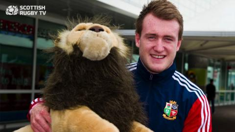 Lions Announcement | Stuart Hogg and Gavin Hastings