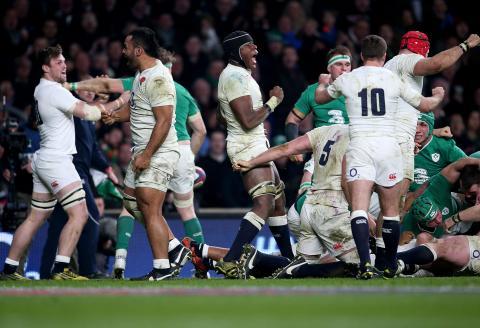 Second half highlights - England 21-10 Ireland   RBS 6 Nations