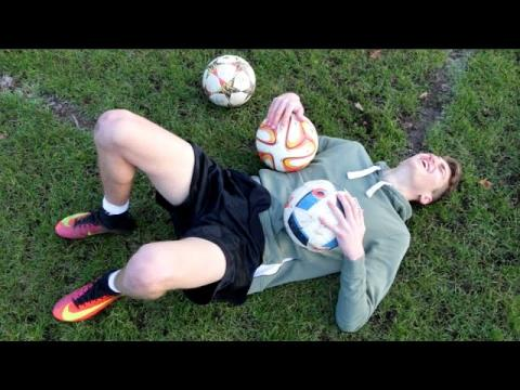 Training Like a PRO Footballer for 24 Hours!!